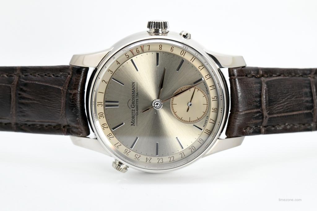Karl Moritz Grossmann, Mortiz-Grossmann, Atum Date, Atum Date Champagne, MG-001477, Manufacture Caliber 100.3, Caliber 100.3