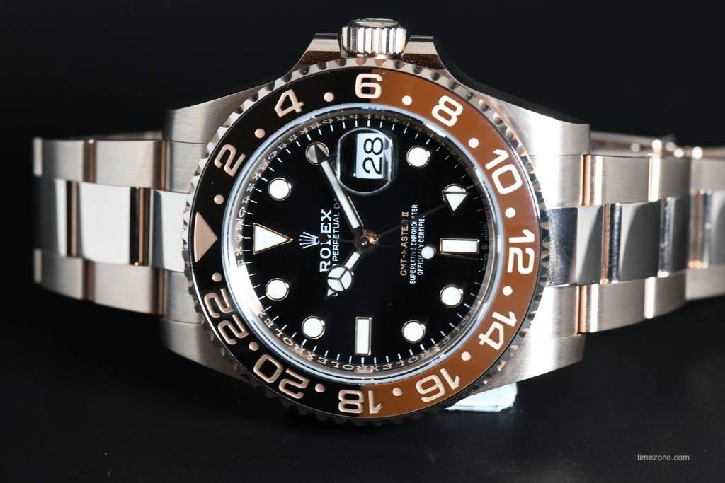 Rolex GMT Tutone, Rolex GMT Everose, Rolex GMT Root Beer, 126715CHNR