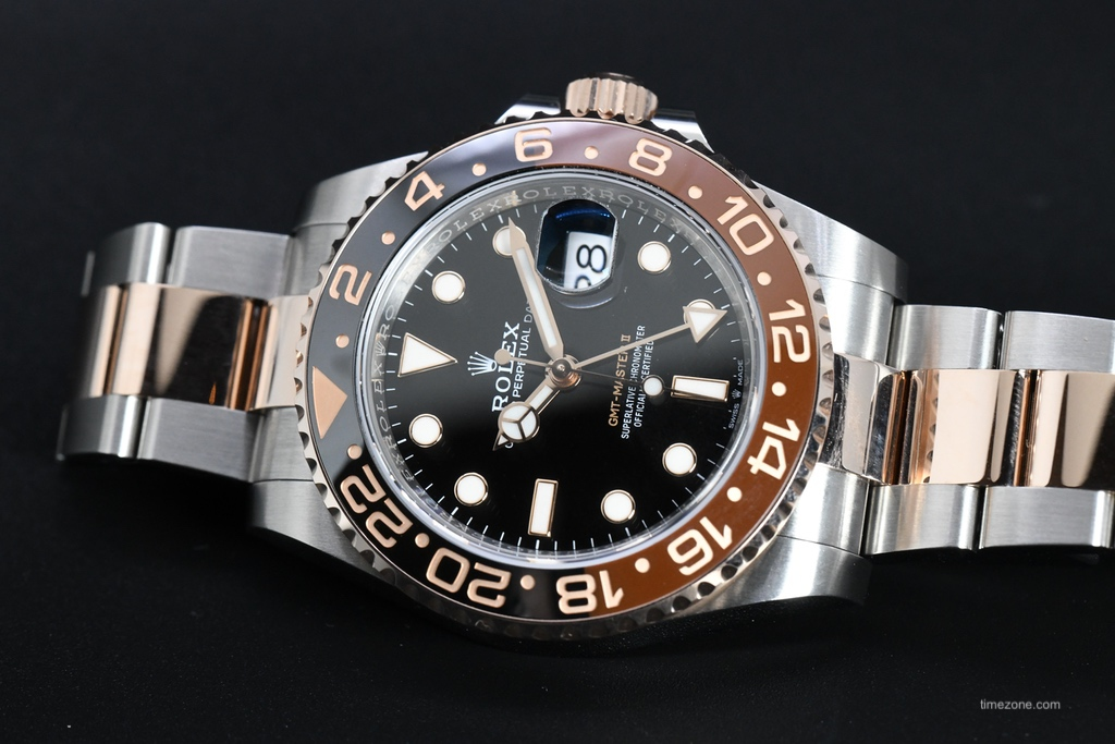 Rolex GMT Tutone, Rolex GMT Everose, Rolex GMT Root Beer, 126711CHNR