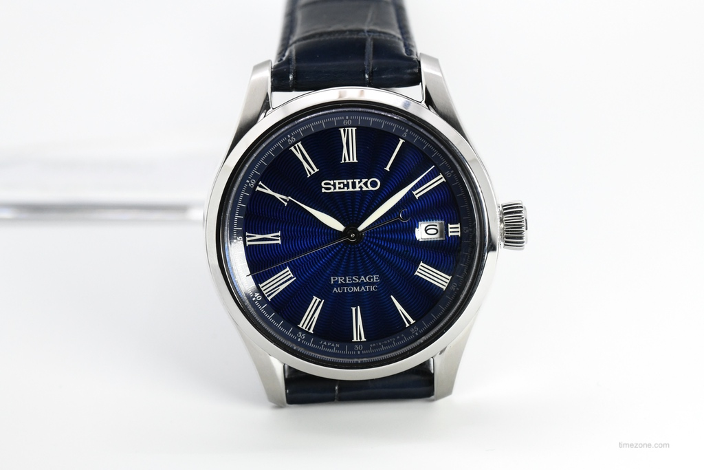 Seiko Presage, enamel Blue Seiko Presage, SPB075