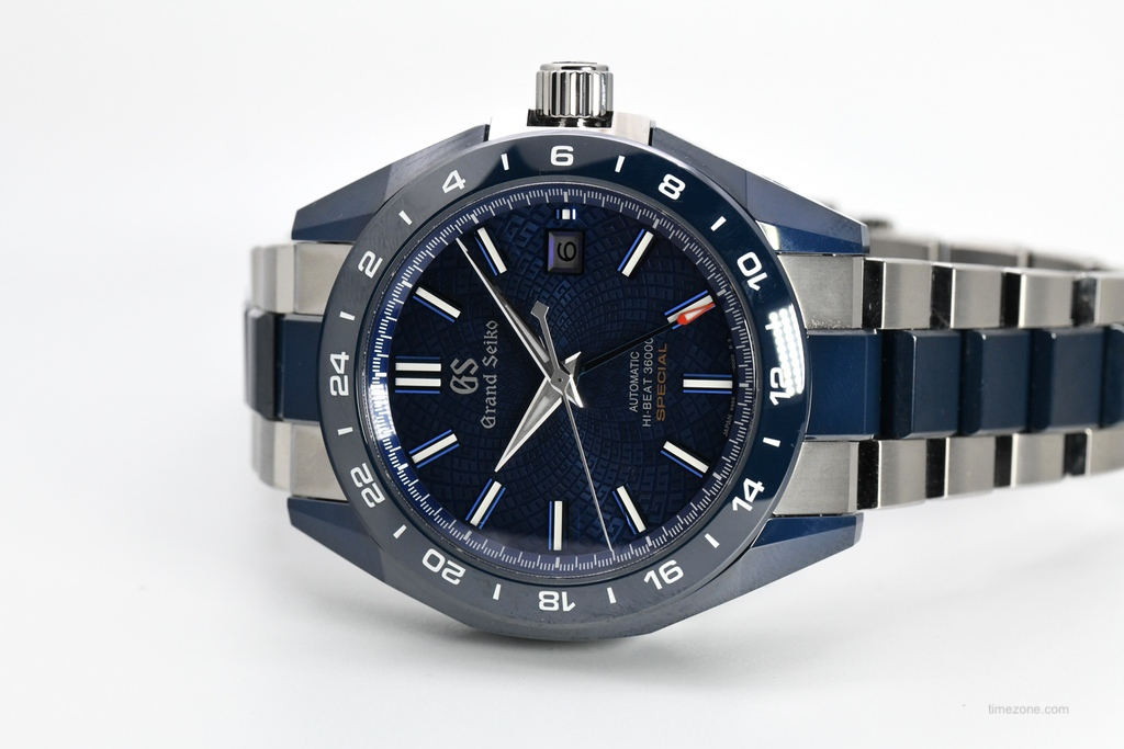 Grand Seiko Blue Ceramic Hi-beat GMT, Grand Seiko Blue Ceramic Hi-beat GMT Special, SBGJ229G