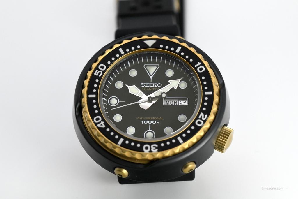 Prospex Tuna, first quartz saturation, S23626, Seiko S23626