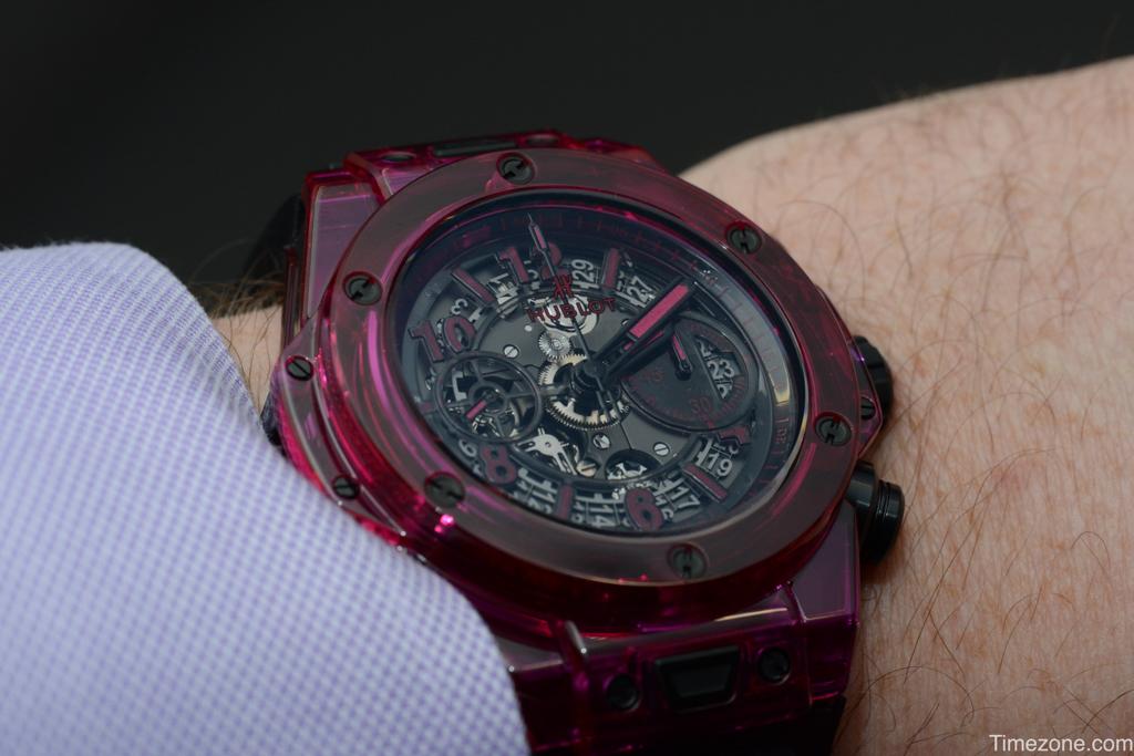 Big Bang Unico Sapphire red, Big Bang Unico Sapphire, 411.JR.4901.RT
