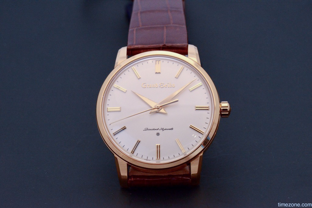 Grand Seiko Re-cration, Grand Seiko gold, Grand Seiko SBGW252, Seiko SBGW252, SBGW252
