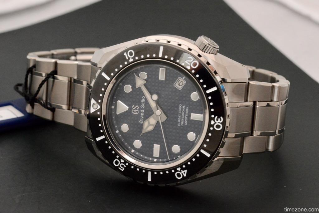 Grand Seiko, Grand Seiko Hi-Beat 36000 Professional 600m Diver's, Hi-Beat 36000 Professional 600m Diver's, Grand Seiko SBGH257, Seiko SBGH257, SBGH257