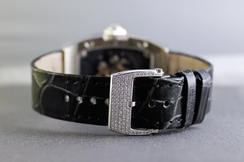 RM 007 Joaillerie, Richard Mille RM007, RM 007 in white gold with sapphires and diamonds