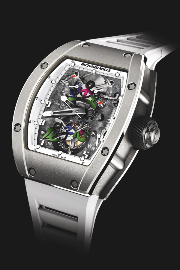 Jackie Chan Oscars, Oscars Richard Mille,  Jackie Chan Richard Mille RM JC Tourbillon, Richard Mille RM JC Tourbillon
