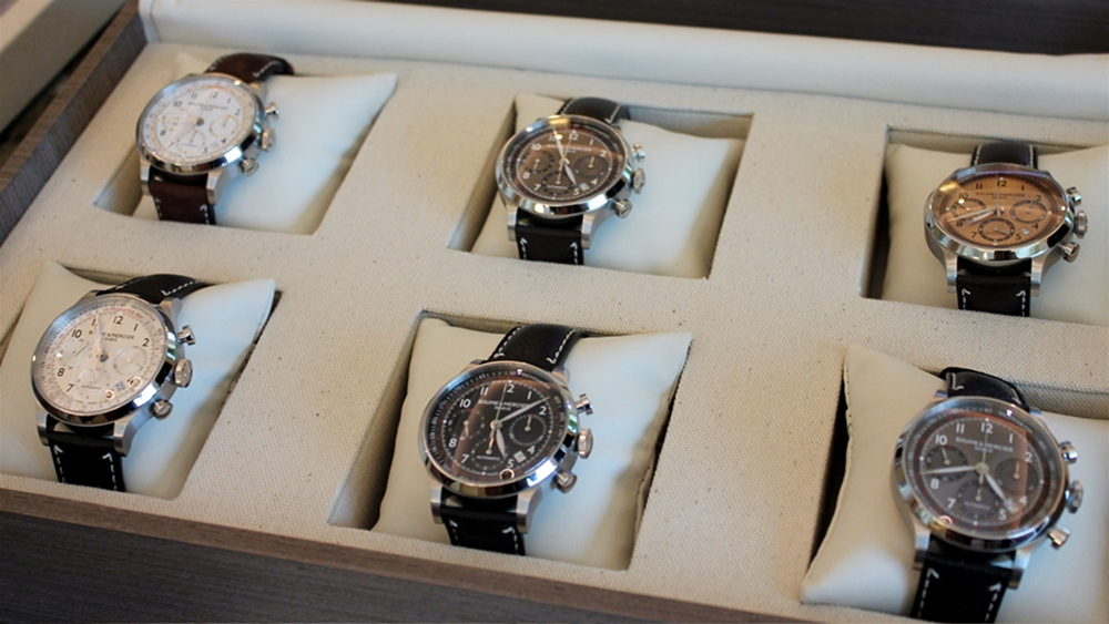 A Conversation with Rudy Chavez of Baume & Mercier, Rudy Chavez, President of Baume & Mercier, Baume & Mercier, Baume Mercier Capeland, Baume Capeland, Baume chronograph