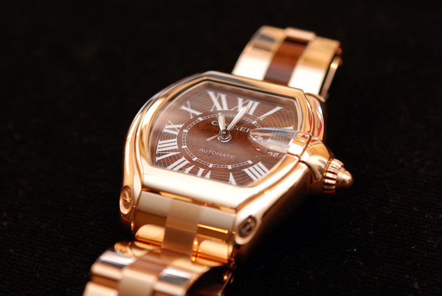 Rose Gold Watch Cartier Watches in 18k Rose Gold