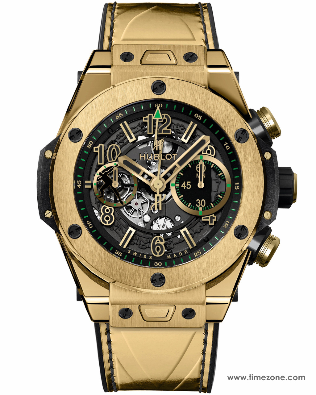 Hublot Big Bang UNICO Usain Bolt, BIG BANG UNICO USAIN BOLT YELLOW GOLD, 411.VX.1189.VR.USB16