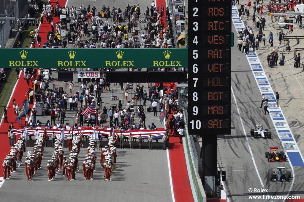 F1 Rolex US GP, F1 Austin GP