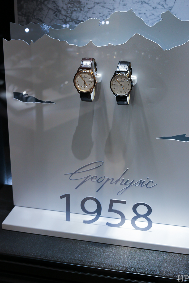 Jaeger-LeCoultre Geophysics, JLC Geophysics, Geophysics watch, Geophysic watch, Jaeger-LeCoultre New York Boutique, JLC Madison Avenue, JLC Boutique