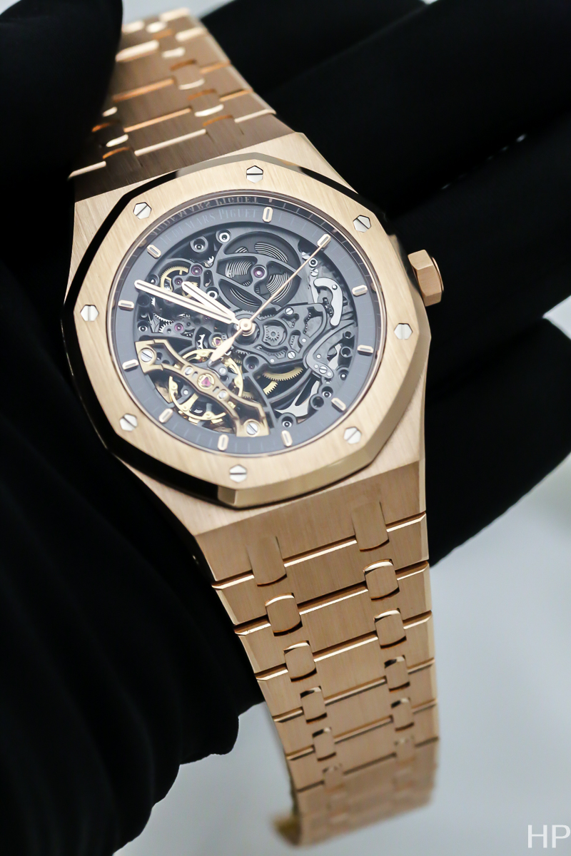 Audemars Piguet Double Balance, Royal Oak Double Balance Openworked, 15407ST.00.1220ST.01, 15407OR.00.1220OR.01