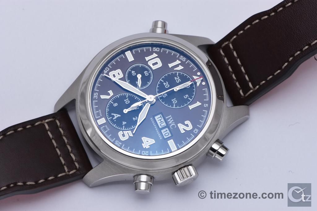 Pilot's Watch Double Chronograph Edition Antoine de Saint Exupéry Ref. IW371808, Spitfire Saint Exupéry Ref. IW371808, IWC Spitfire Exupery, Ref. IW371808, IWC IW371808, Spitfire Exupery IW371808, IW371808