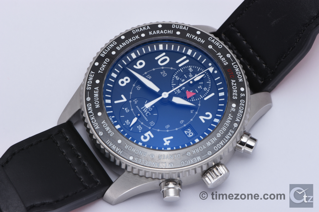 IWC Pilot's Watch Timezoner Chronograph, IWC IW395001, Pilot's Watch Timezoner Chronograph, IWC Timezoner Chronograph, Pilot's Watch Timezoner Chronograph Ref. IW395001