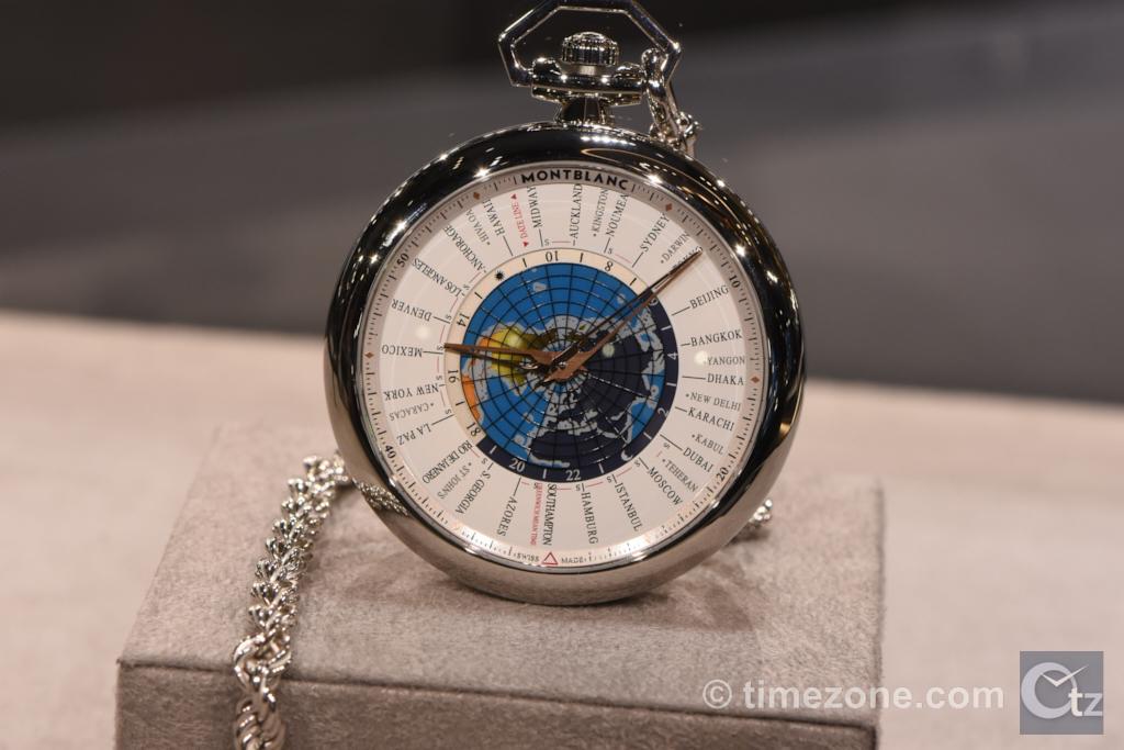 4810 Orbis Terrarum Pocket Watch, Montblanc 4810 Orbis Terrarum Pocket Watch, Orbis Terrarum Pocket Watch, Montblanc 114928