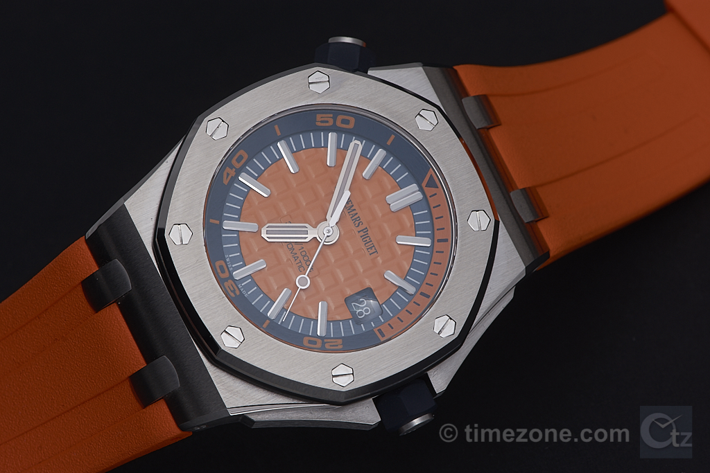 RO Diver orange, 15710ST.OO.A070CA.01, Royal Oak Offshore Diver, ROO Diver, Audemars Piguet SIHH 2017