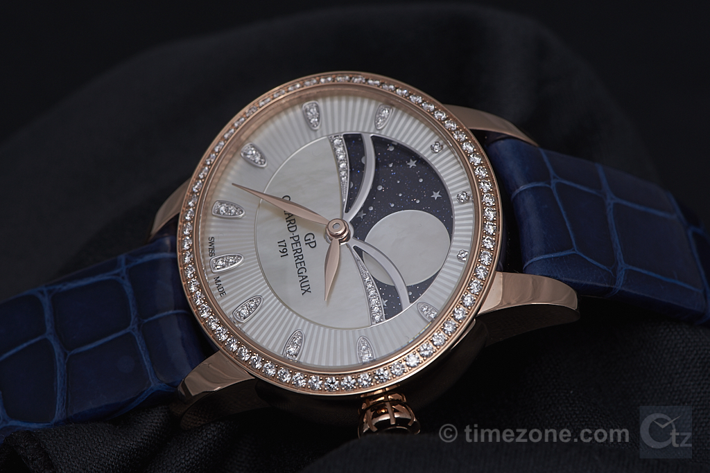 Cat's Eye Moonphase, GP 80496, Girard-Perregaux 80496, Girard-Perregaux SIHH 2017