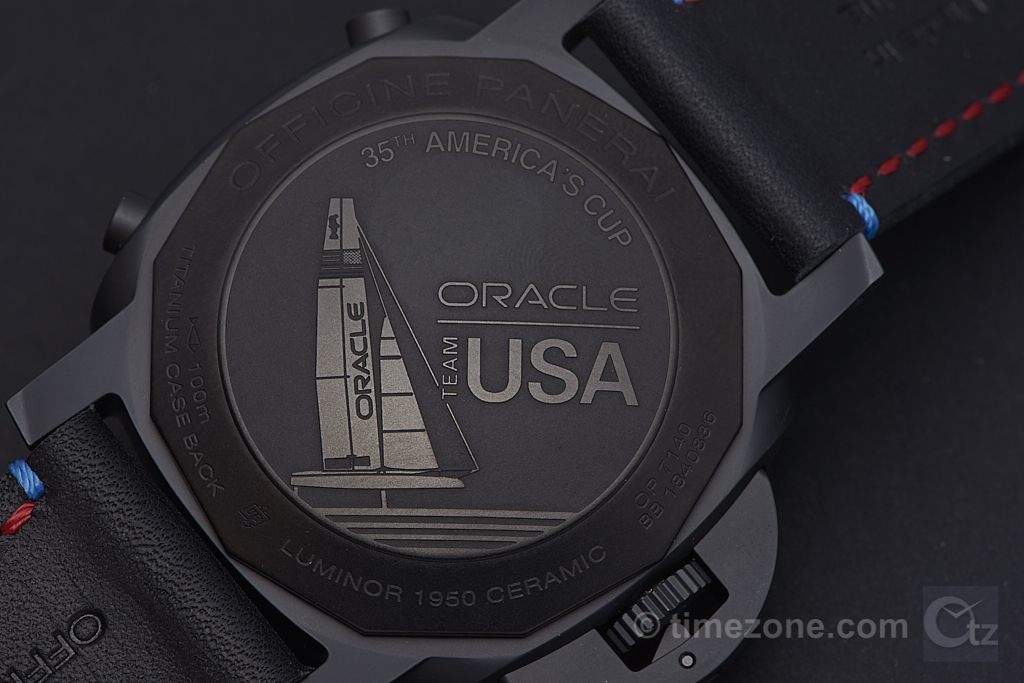 Luminor 1950 ORACLE TEAM USA, Luminor 1950 ORACLE TEAM USA 3 Days Chrono Flyback Automatic PAM725, PAM725, Panerai SIHH 2017