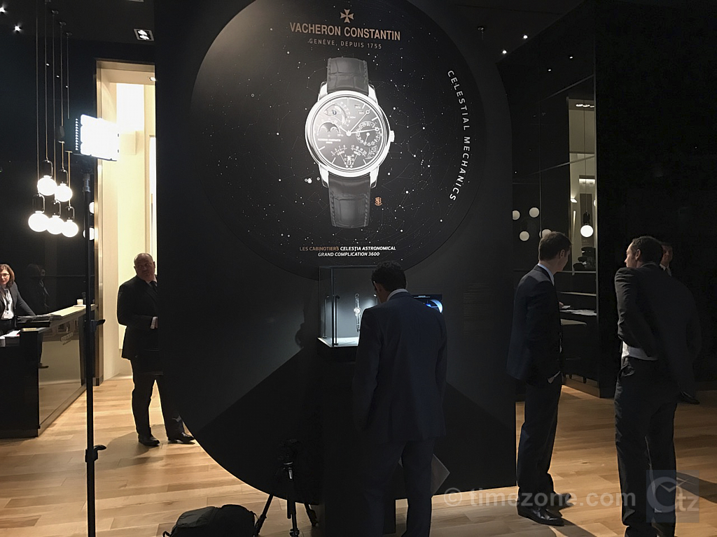 Vacheron Constantin Les Cabinotiers Celestia Astronomical Grand Complication 3600, Les Cabinotiers Celestia Astronomical Grand Complication 3600, Vacheron Constantin SIHH 2017