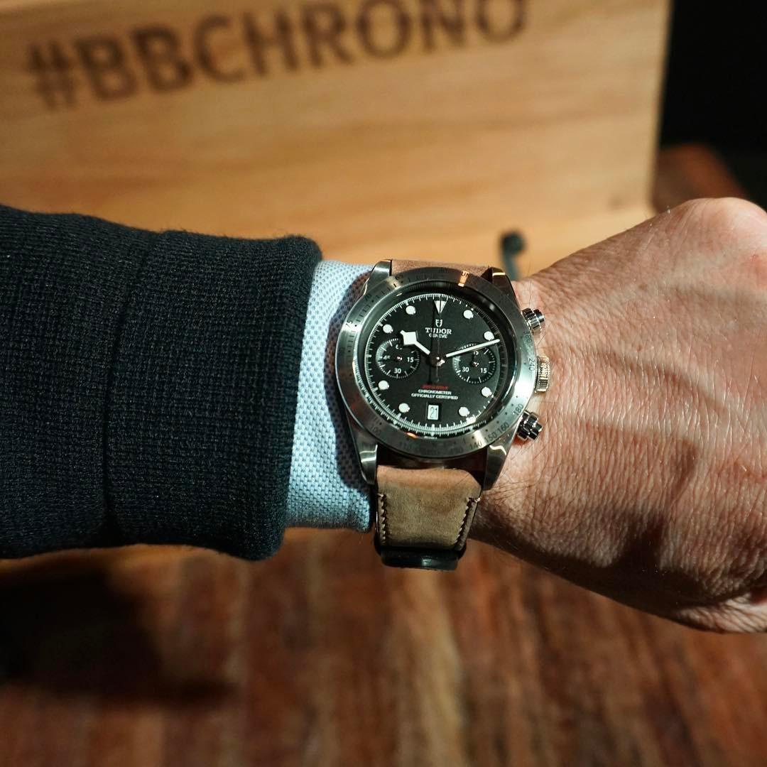 Tudor Black Bay Chrono, Black Bay Chronograph, Tudor BB Chrono, Baselworld 2017 Tudor BB Chrono,  Tudor 79350