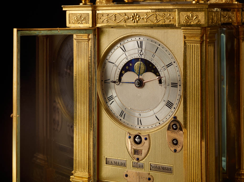 Precision and Splendor: Clocks and Watches at The Frick Collection, Abraham-Louis Breguet, Antoine-Louis Breguet, Breguet Frick Collection, Carriage Clock with Calendar, Winthrop Kellogg Edey, The Frick Collection