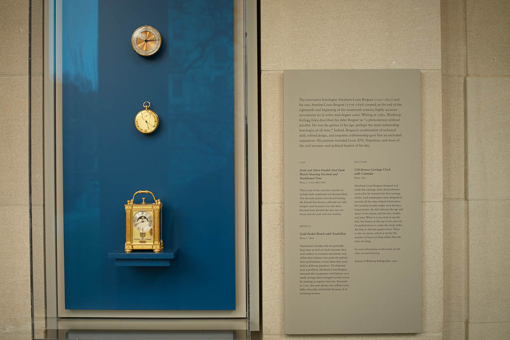 Precision and Splendor: Clocks and Watches at The Frick Collection, Abraham-Louis Breguet, Antoine-Louis Breguet, Breguet Frick Collection, Carriage Clock, Winthrop Kellogg Edey, The Frick Collection