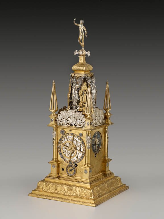 Precision and Splendor: Clocks and Watches at The Frick Collection, David Weber, Astronomical Table Clock, The Frick Collection