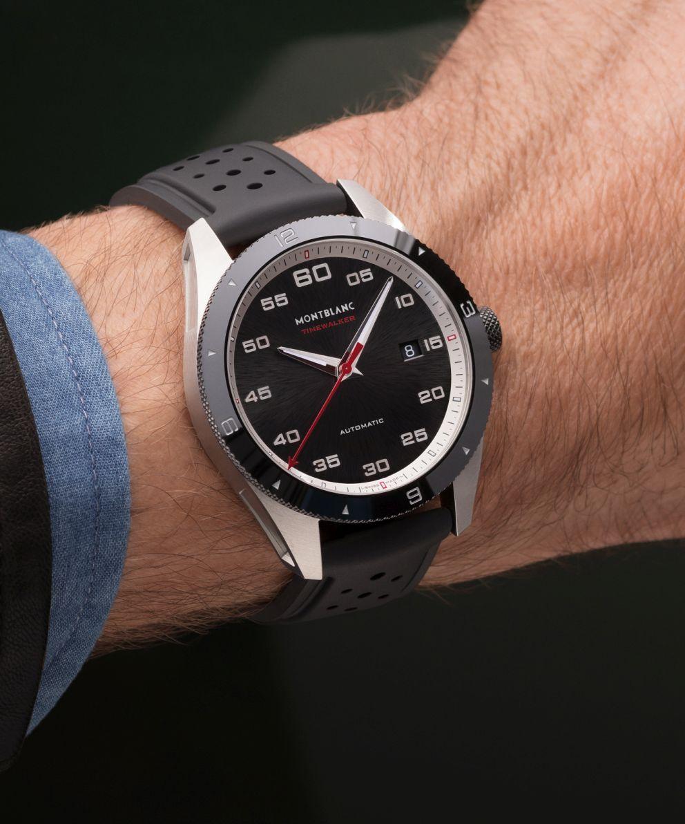 Montblanc: Timewalker Automatic Date – SIHH 2017 [Update: Wristshot]